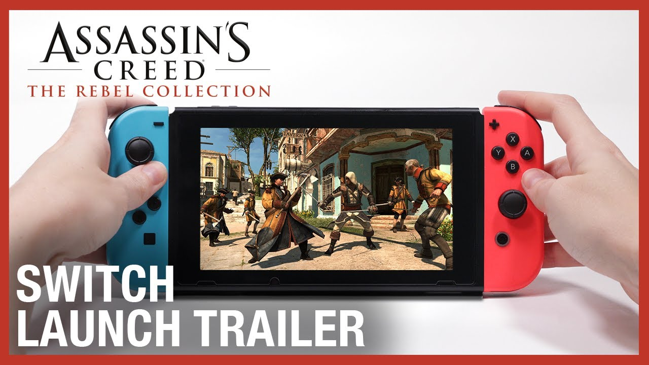 Assassin's Creed The Rebel Collection now available on Switch
