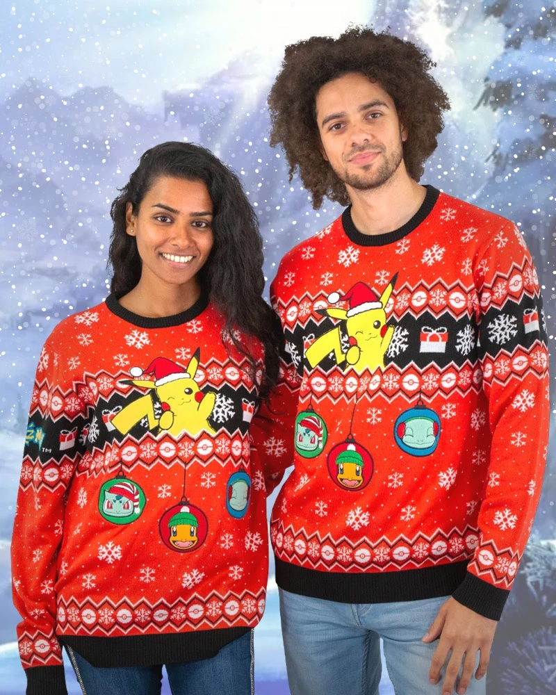 Nintendo selling holiday sweaters on Geekstore, buy one get 50% off