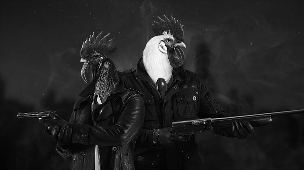 Film-noir inspired buddy-cop adventure Chicken Police heading to Switch in 2020