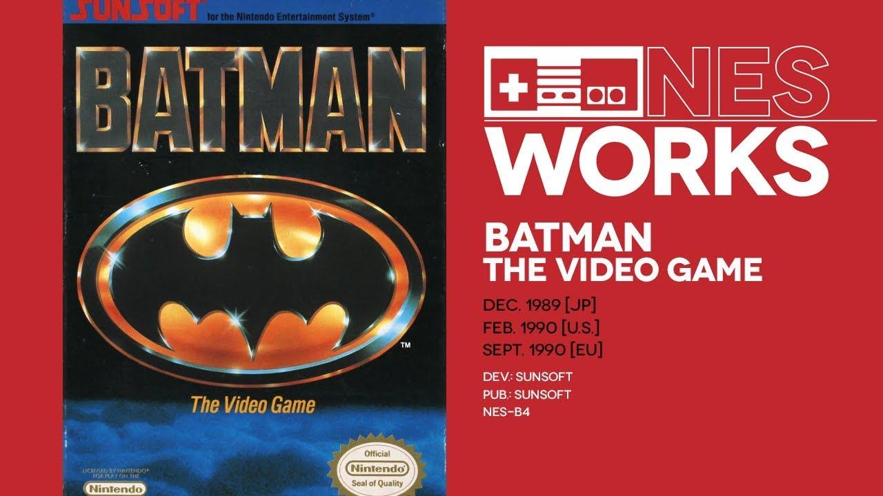 Jeremy Parish's NES Works #168 - Batman: The Video Game retrospective