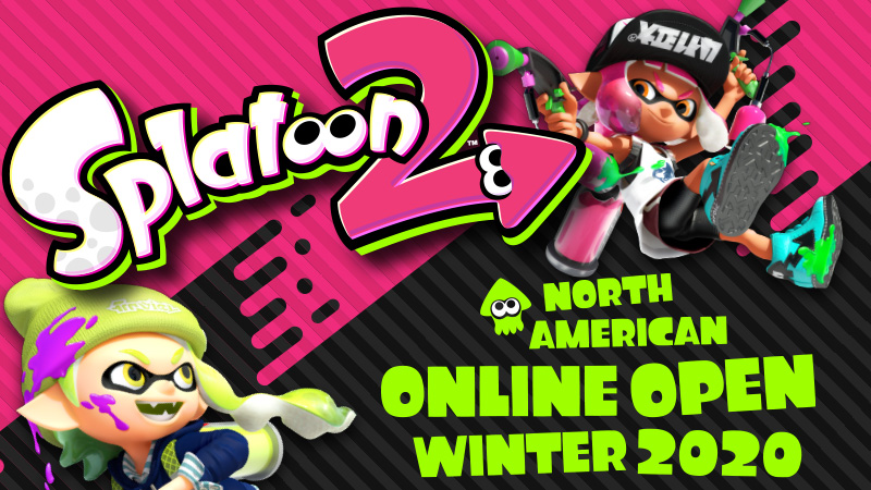 Register now for the Splatoon 2 North American Online Open Winter 2020
