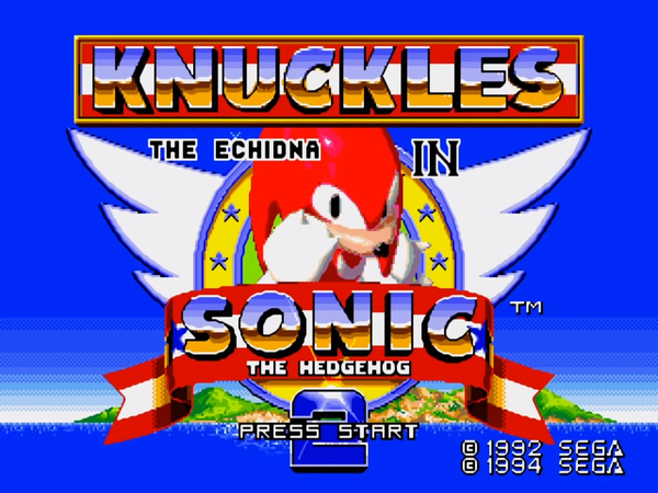 Sega Ages: Sonic the Hedgehog 2 will include Knuckles in Sonic 2   GoNintendo