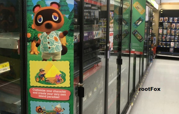 Animal Crossing: New Horizons advertising going up at Walmart