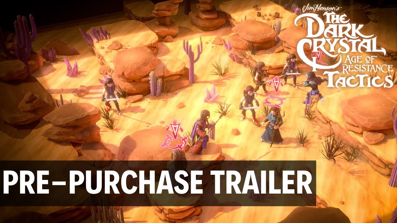 Pre-Purchase for The Dark Crystal: Age of Resistance Tactics Now Available, New Trailer Released