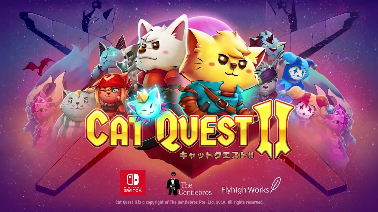 Cat Quest II Japanese trailer released