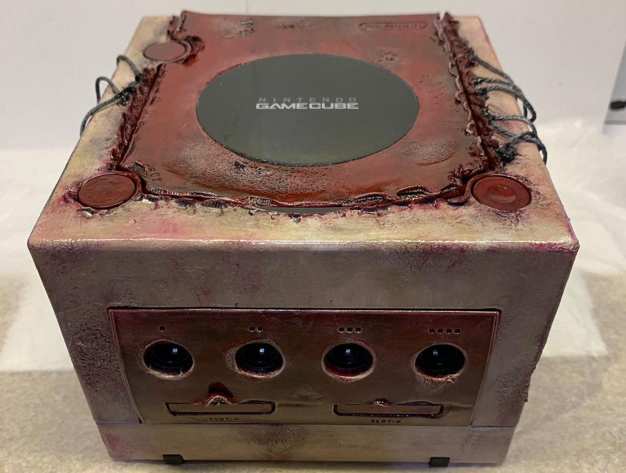 "This ""fleshy"" GameCube is absolutely horrifying"