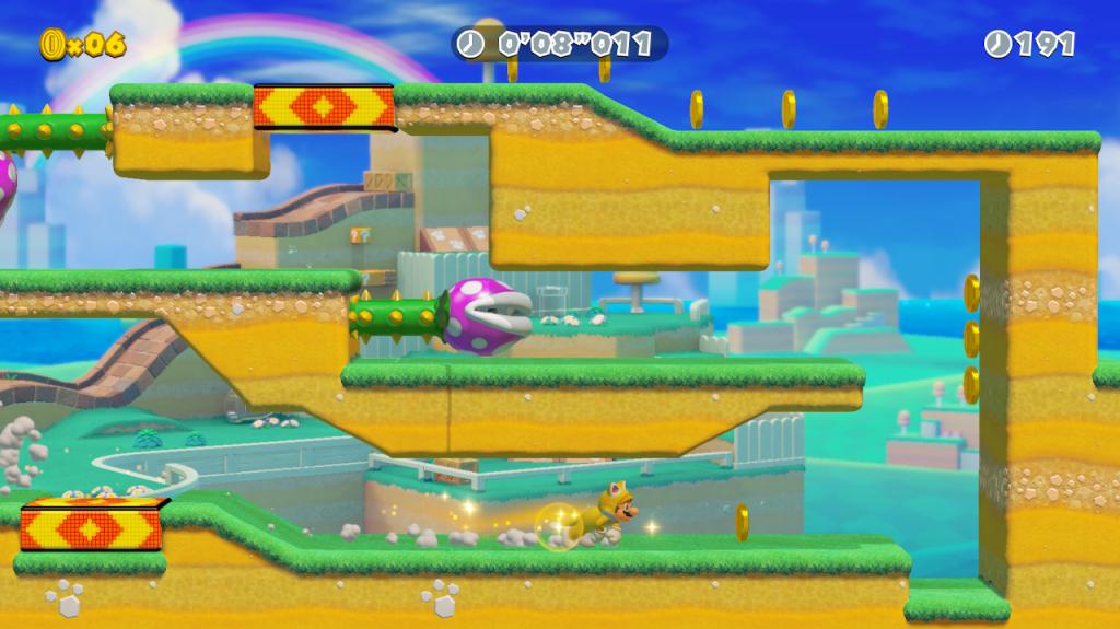 "Super Mario Maker 2 ""Cat Mario Dash"" Ninji Speedrun now available"