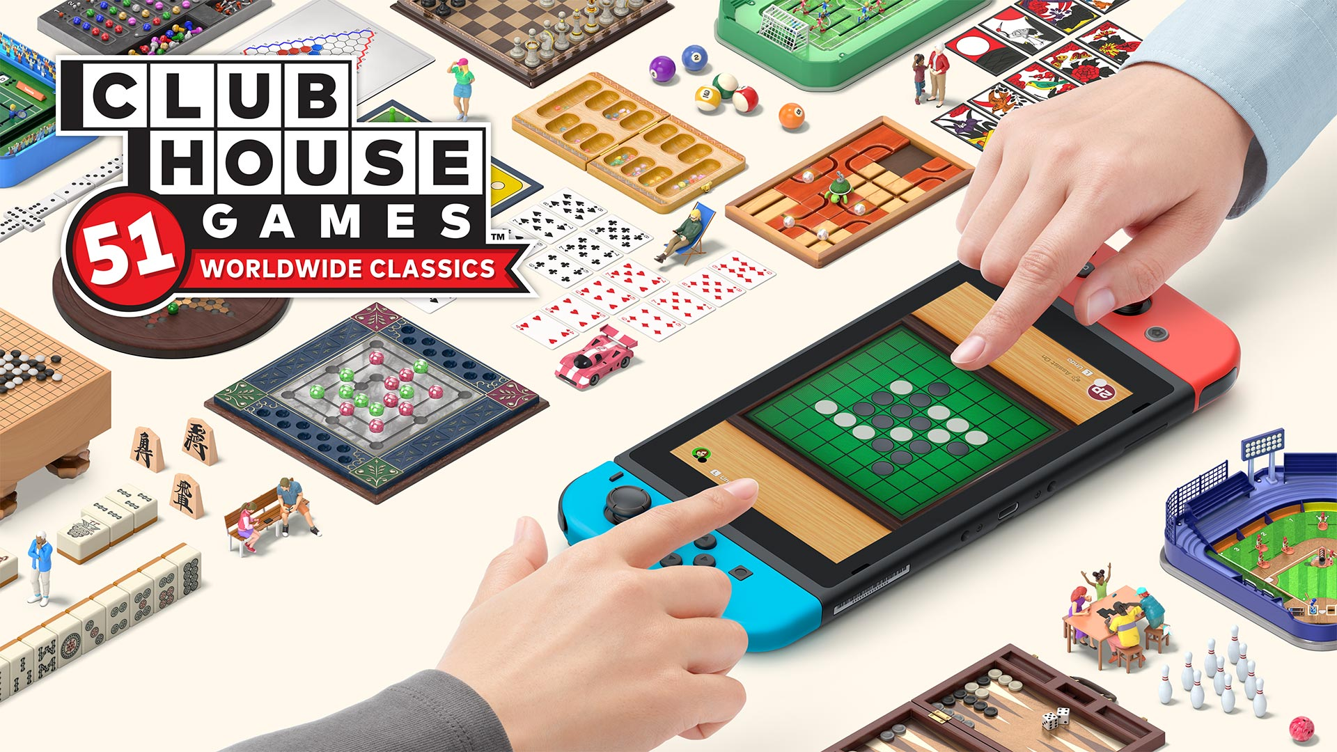 Clubhouse Games: 51 Worldwide Classics heads to Switch on June 4th, 2020, will see retail release, preloads live today