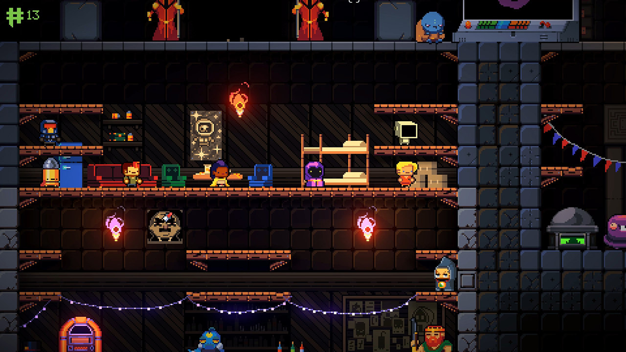 Dodge Roll explains where the idea for Exit the Gungeon came from