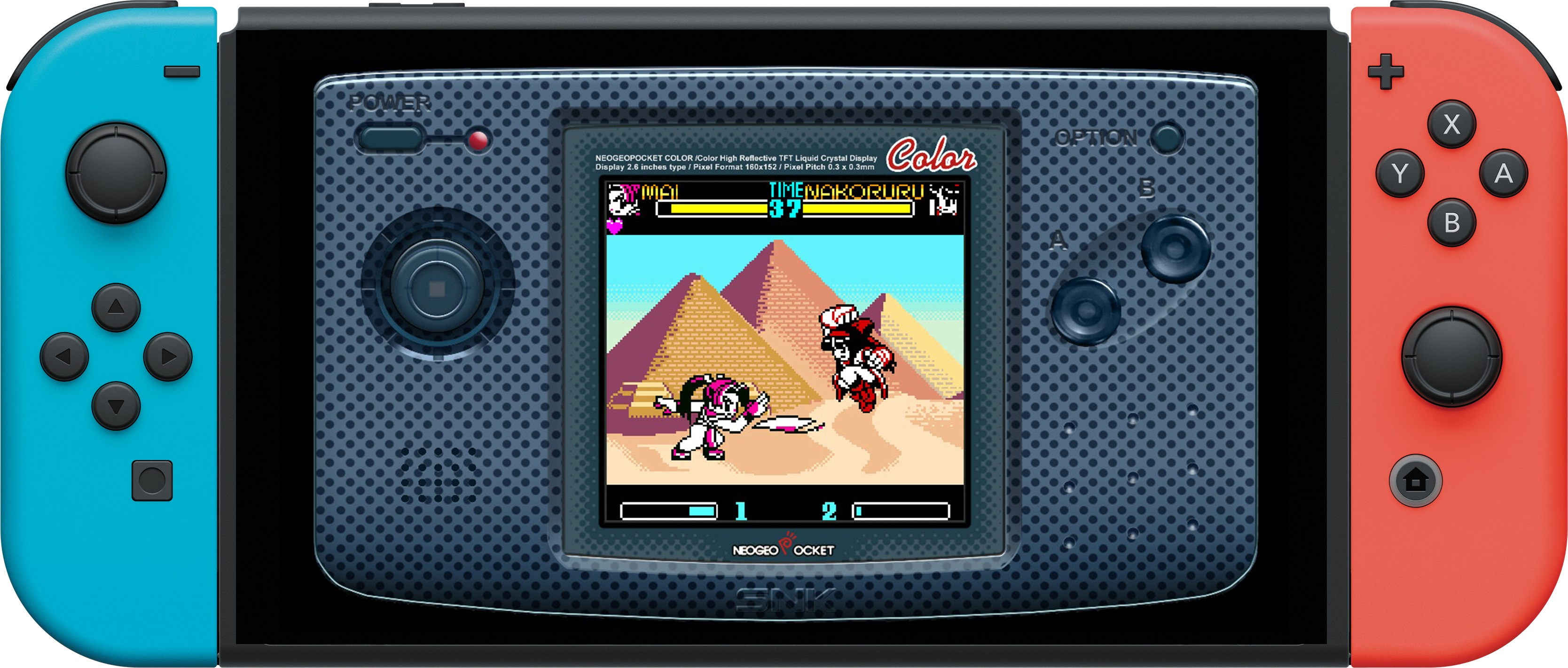 PR - The NEOGEO POCKET fighter SNK GALS' FIGHTERS is now available on the Nintendo Switch!