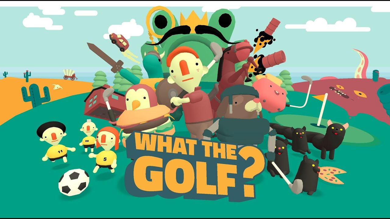 Tee-rific What the Golf? launches for Switch today