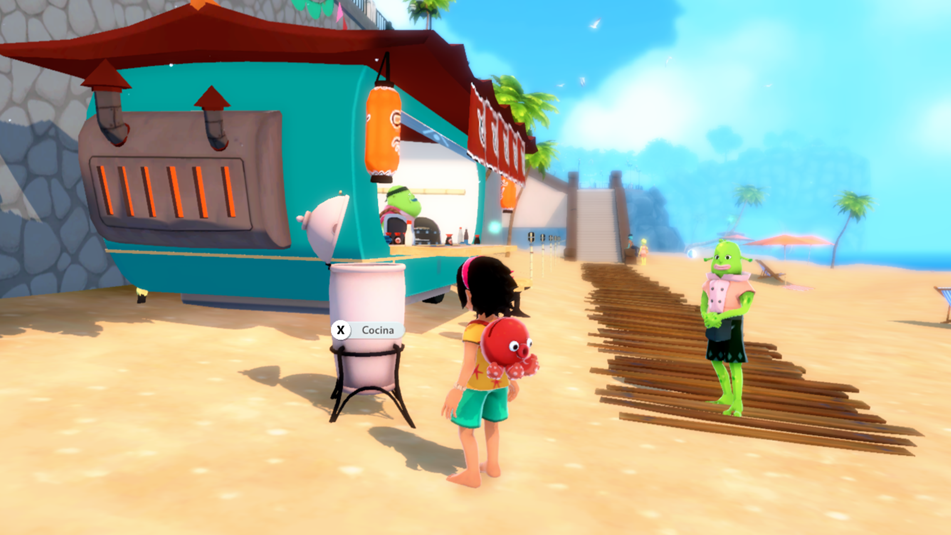 Summer in Mara update to include fast travel and crafting/cooking