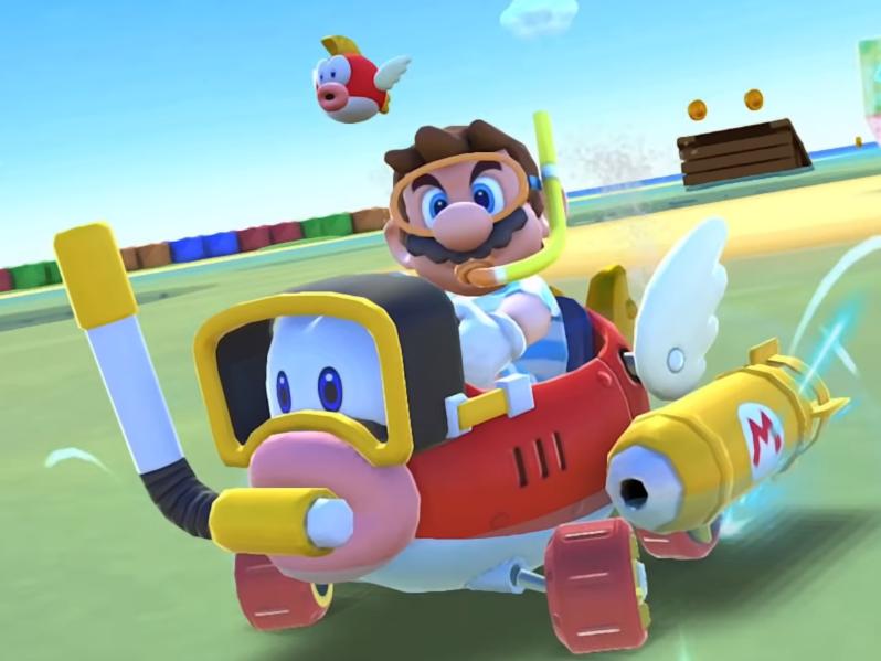 The Marine Tour makes a splash in Mario Kart Tour (official PR)