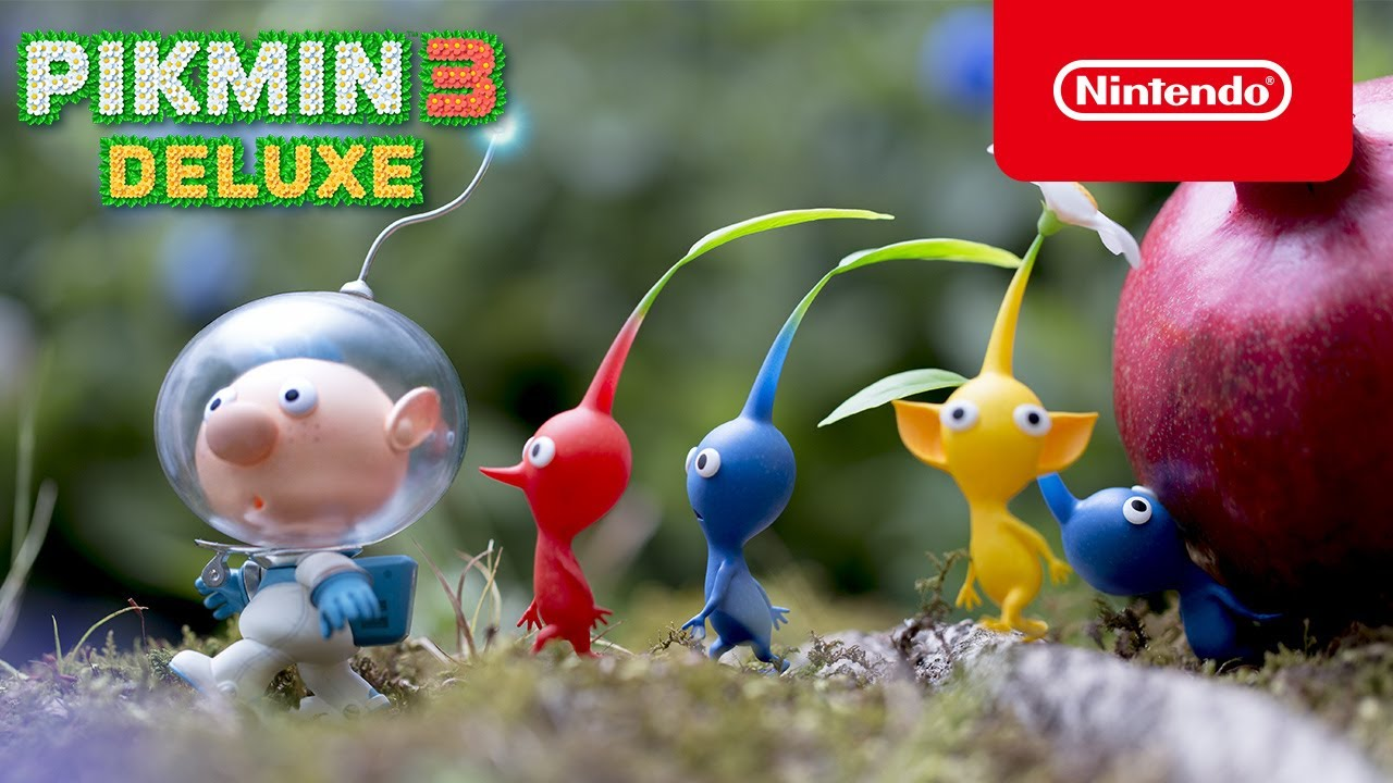 Pikmin 3 Deluxe announced for Switch, launching on October 30th