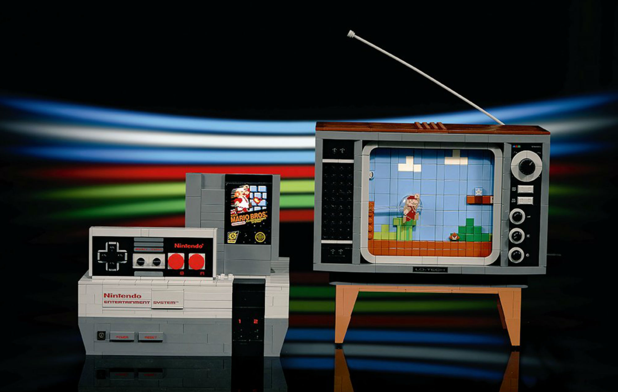 Check out a timelapse build for the LEGO NES
