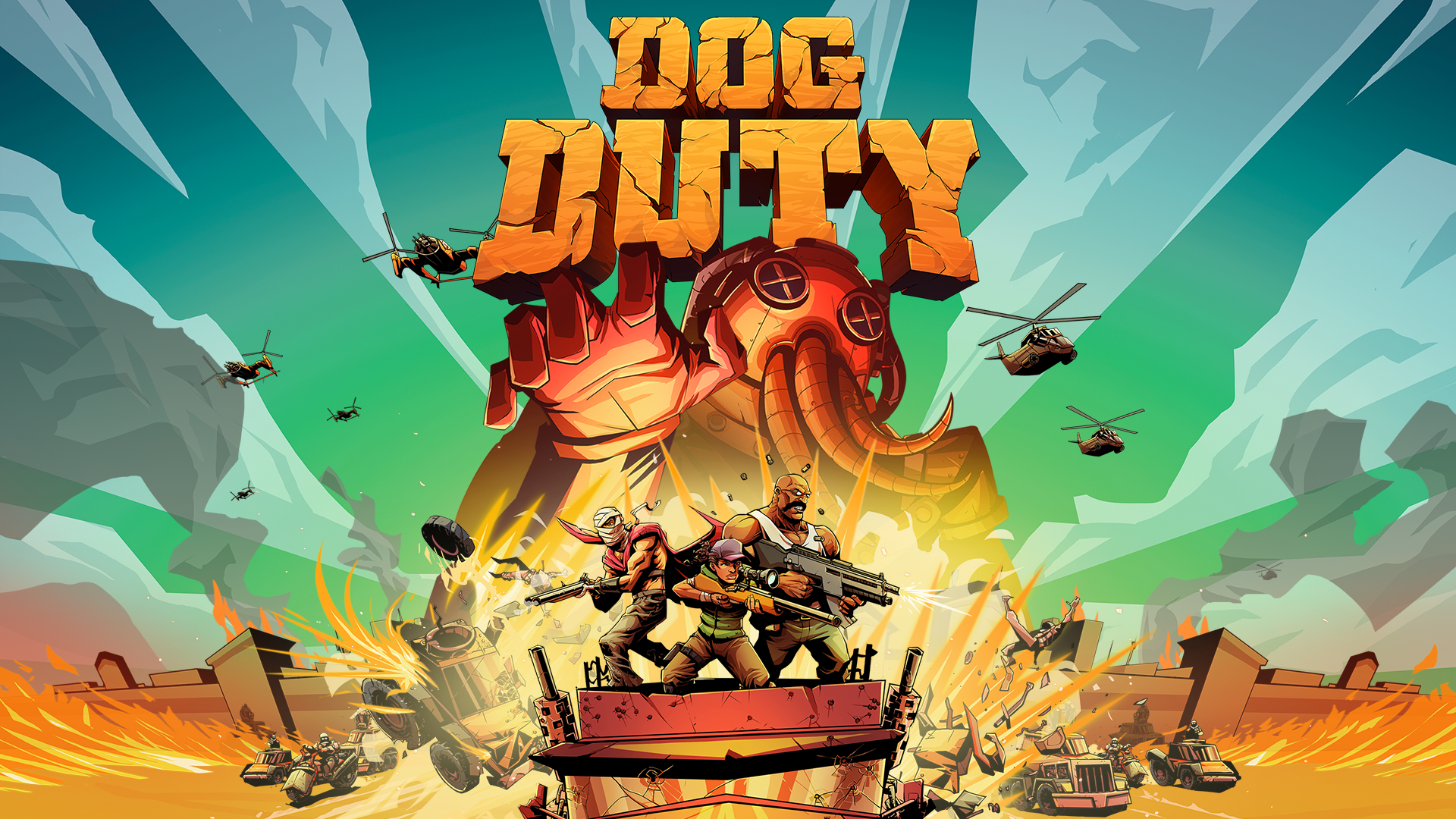 Dog Duty, a six-year indie project, has rebelled its way to Switch