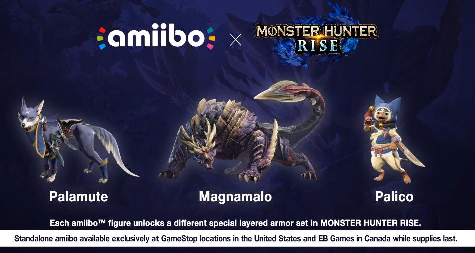 Monster Hunter Rise amiibo revealed | GoNintendo