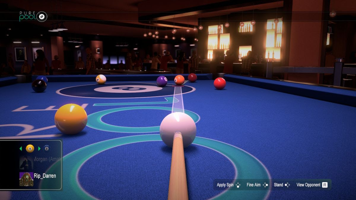 Pure Pool arrives on Switch later this year